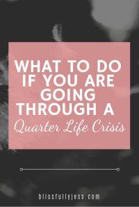 Blog- Quarter Life Crisis